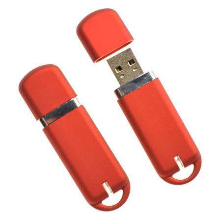 Clé USB en plastique et capuchon
