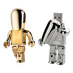 Clé USB personnage en métal