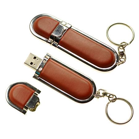Clé USB personnalisable en cuir