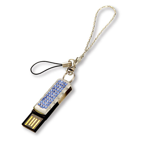 Clé USB pivotante et pierres