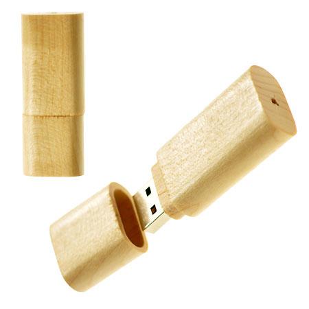 Clé USB promotionnelle en bois