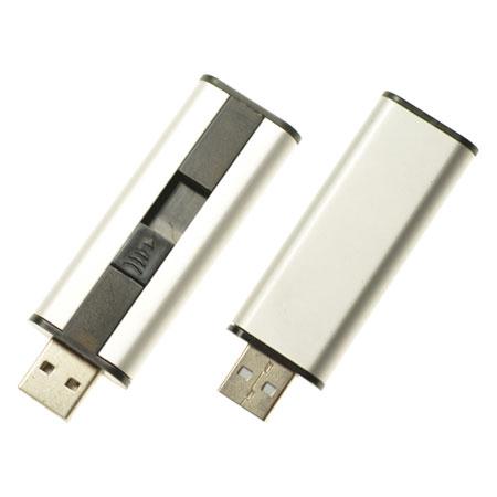 Clé USB rétractable élégante