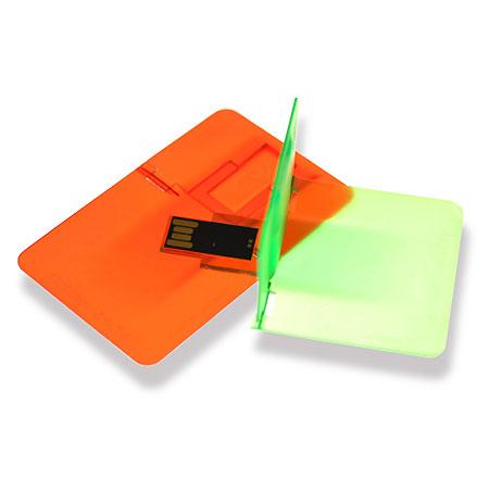 Carte USB transparente