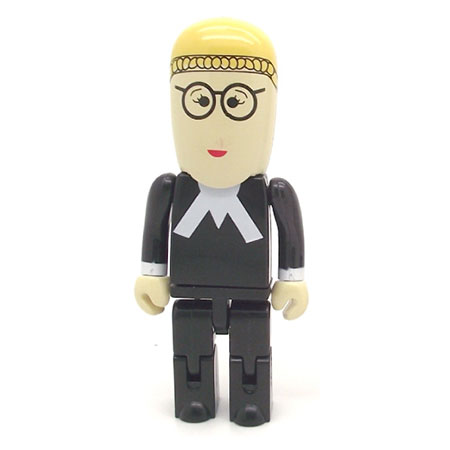 Personnage USB avocate