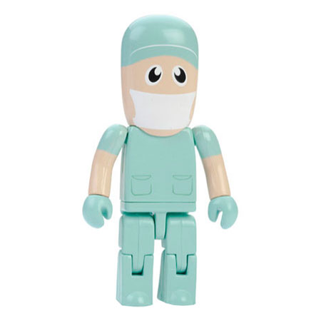 Personnage USB chirurgien
